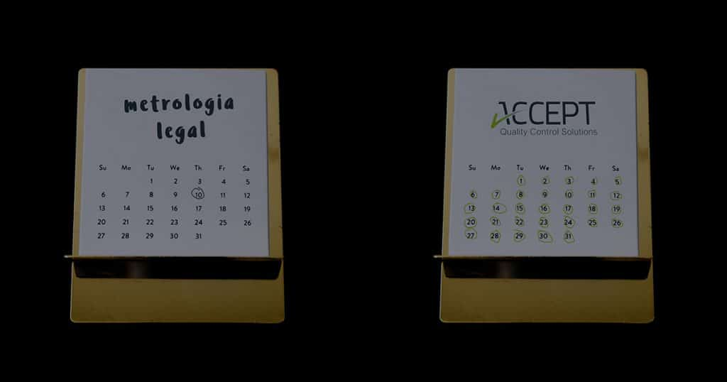 Metrologia Legal vs ACCEPT no controlo de Pré-embalados