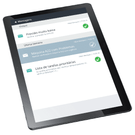 ACCEPT Mobile: mensagens
