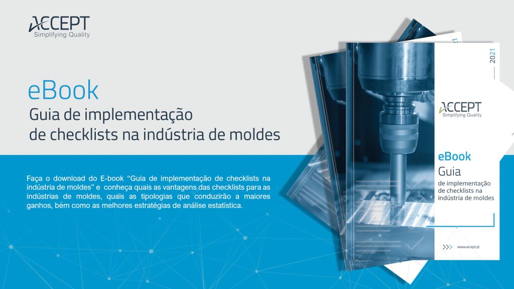 ebook Guia de implementação de checklists na indústria de moldes